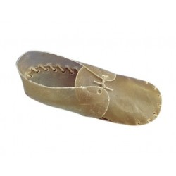 Beeztees | Chaussures en peau de buffle pour petit chien | 8 cm x 10 pièces | 100% naturel