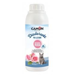 Camon | Désodorisant litière pour chat | Parfum rose