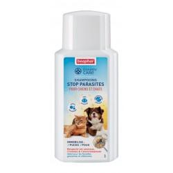 Beaphar DiméthiCARE | Shampoing antiparasitaire chien et chat sans pesticide | 200 ml