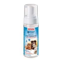 Beaphar DiméthiCARE | Mousse antiparasitaire pour chien et chat sans pesticide | 150 ml