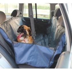 Camon   Housse auto bleu pour chien