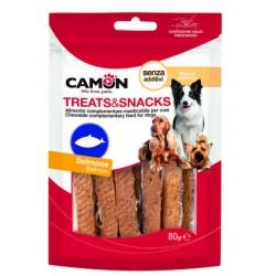 Camon | Filets de saumon | Friandises pour chien | 80 g