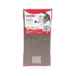 Camon | Griffoir carton avec herbe à chat