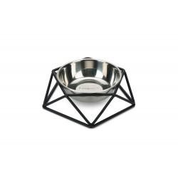 Beeztees | Gamelle en inox avec son support en acier Design