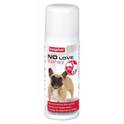 Beaphar No Love   Spray pour neutraliser les phéromones des chiennes en chaleur   50 ml
