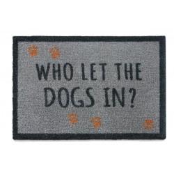 Howler & Scratch | Tapis d'entrée Qui a laissé rentré le chien ?