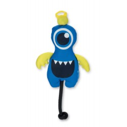 Beeztees   Monstre élastique à lancer sonore FETCH   Bleu