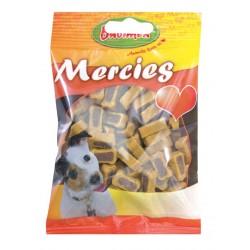 Bubimex | Mercies - Friandises semi-humides goût gibier et volaille pour chien | 100 g