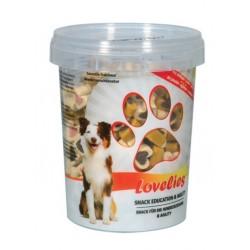 Bubimex | Lovelies - Seau de friandises pour chiens | Aux 3 saveurs | 300 g