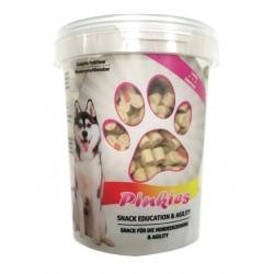 Bubimex | Pinkies - Friandises pour chien au saumon | Pot de 300 g
