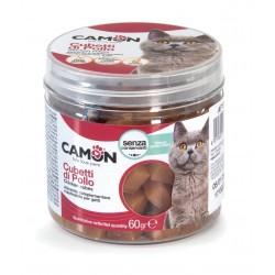 Camon | Friandises cubes de poulet pour chat | 60 g