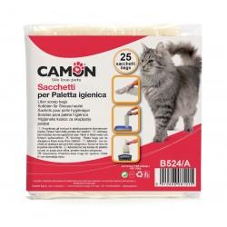 Camon | 25 sachets hygiéniques pour pelle à litière B524