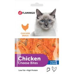 Flamingo | Friandise pour chat au poulet et fromage