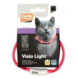Karlie   Collier lumineux pour chat à LED Visio Light