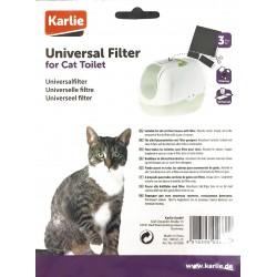 Karlie | Lot de 3 filtres universels de 20 x 15 cm