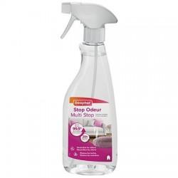 Beaphar Stop Odeur   Spray désinfectant anti-odeurs pour chien et chat   500 ml