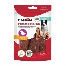 Camon | Lamelles larges au canard | Friandises pour chien et chiot | 80 g
